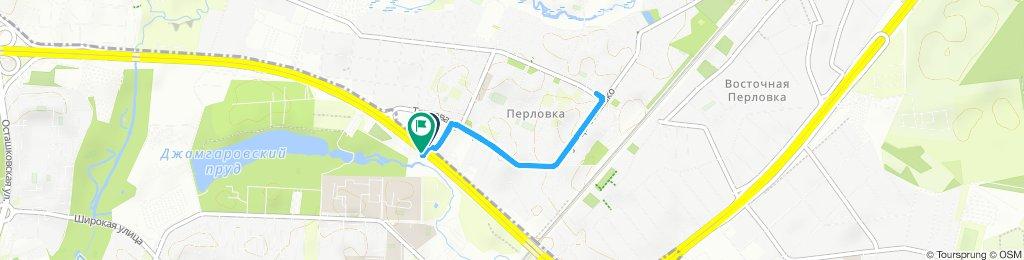Велотрип по Мытищам летний дождливый 09 08 2019