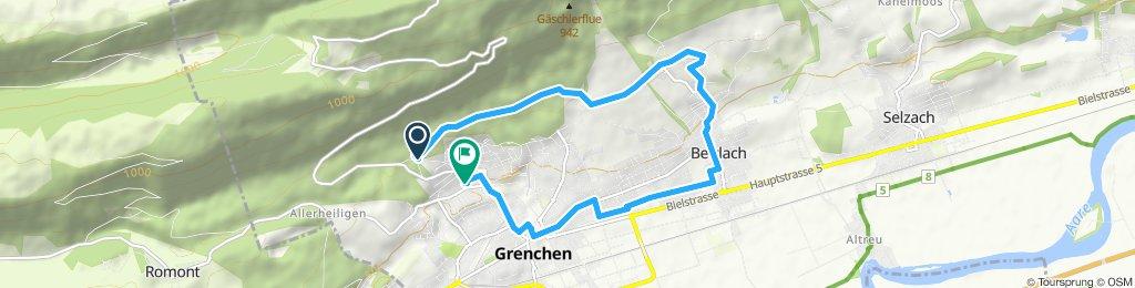 Jednoduchá jazda Grenchen