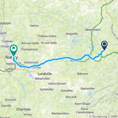 4 Saarbourg - Nancy
