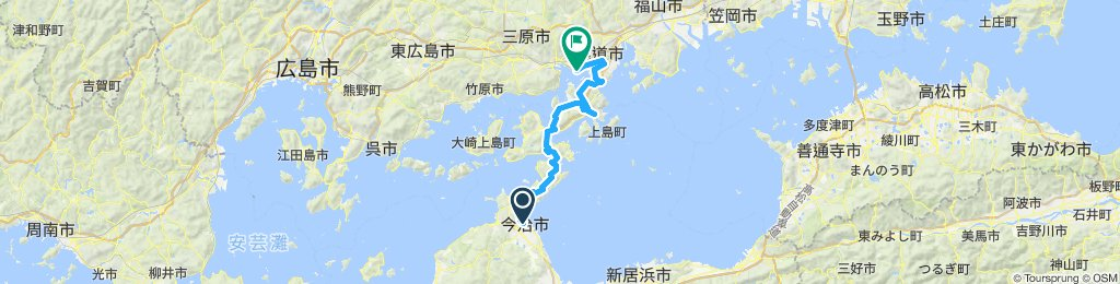 瀬戸内トライアングル/Day1(今治→三原)