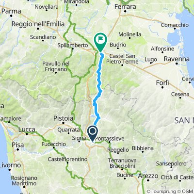 Firenze -Bologna stradale Futa