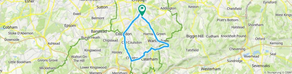 Easy ride in South Croydon