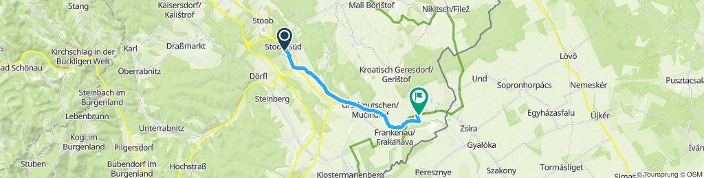 Einfache Fahrt in Lutzmannsburg