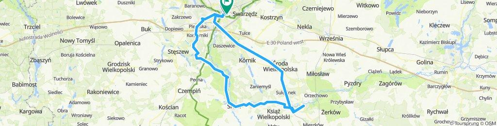 🇵🇱 Poznań - Nw. Miasto n. Wartą (108km)