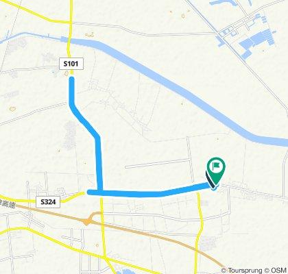 Moderate route in Tianjin