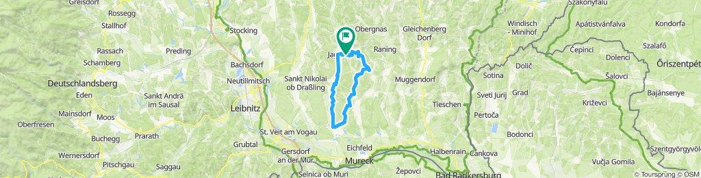 Abendrunde_Jagerberg - Weinburg - St. Peter - Jagerberg