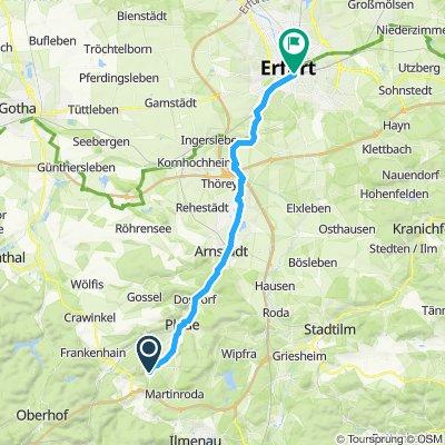 angelroda nach Erfurt
