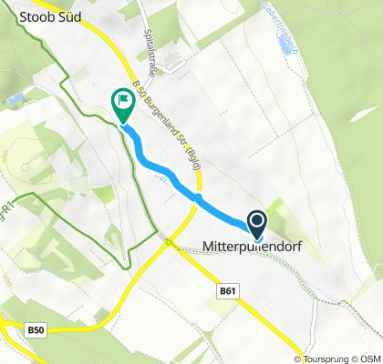 Route im Schneckentempo in Oberpullendorf
