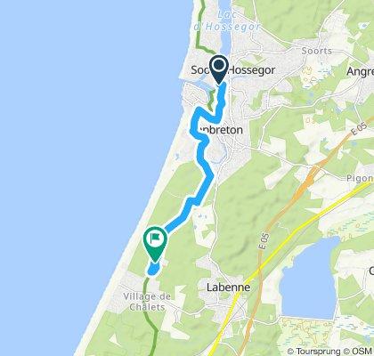 Itinéraire modéré en Labenne