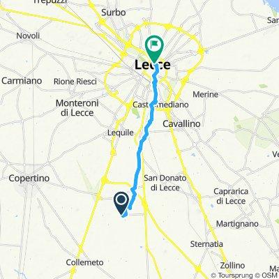 Easy ride in Lecce