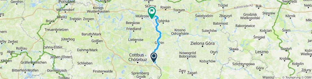 Von Forst nach Wiesenau