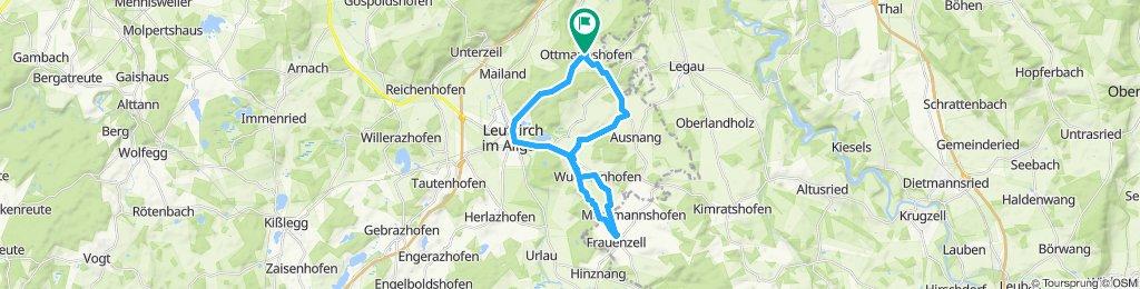 Gemütliche Route in Leutkirch im Allgäu