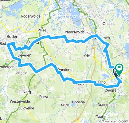 Route noord Drenthe