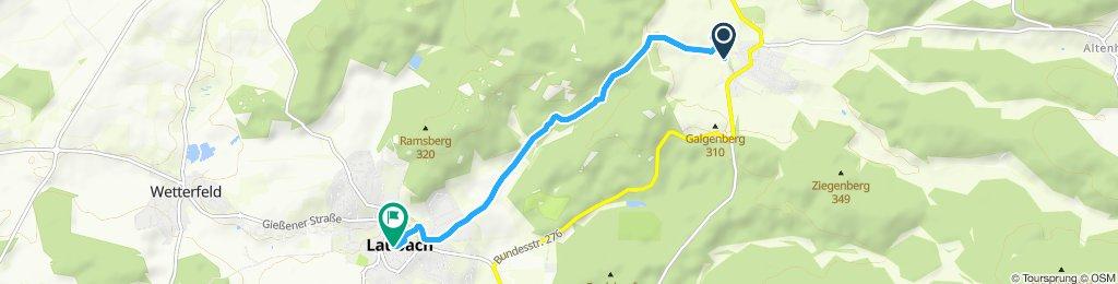 Freienseen nach Laubach