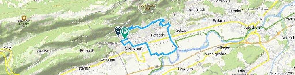 Stredná trasa Grenchen