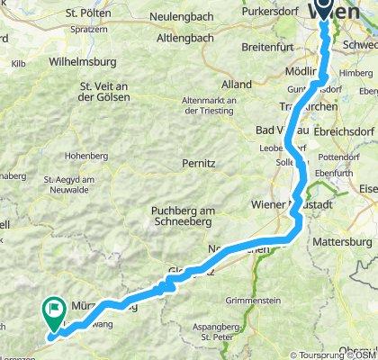 Wien - Krieglach