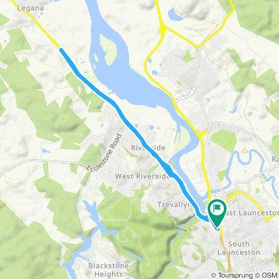 Moderate route in Launceston
