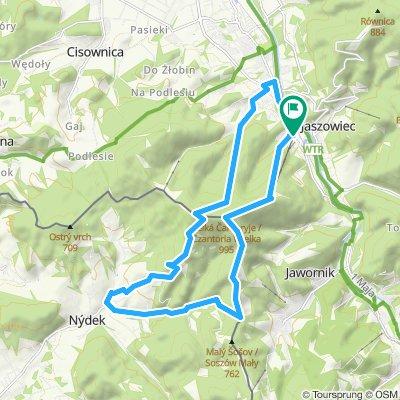 Szlaki Ustronia - Czantoria