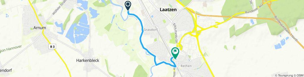Moderate route in Laatzen