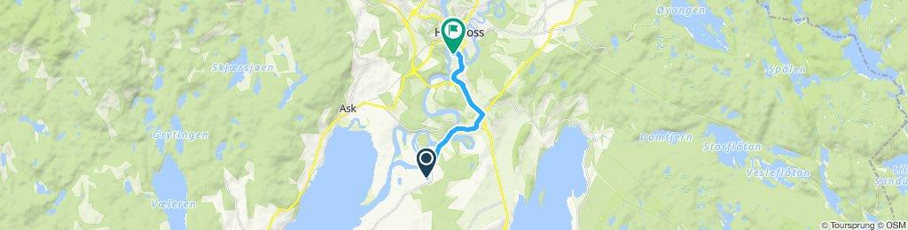 Easy ride in Hønefoss