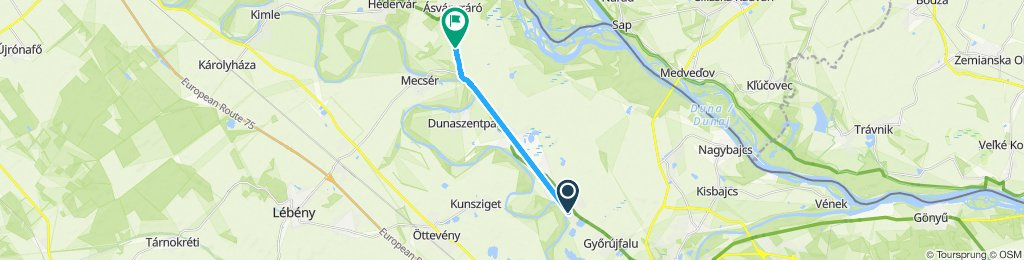 Moderate route in Ásványráró
