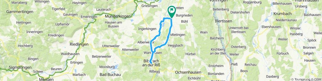 Sunday ride to Biberach