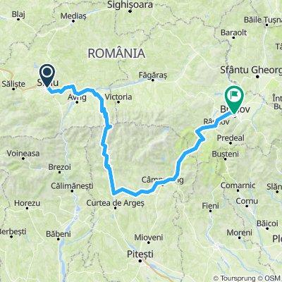 Sibiu to Brasov via Transfagarasan
