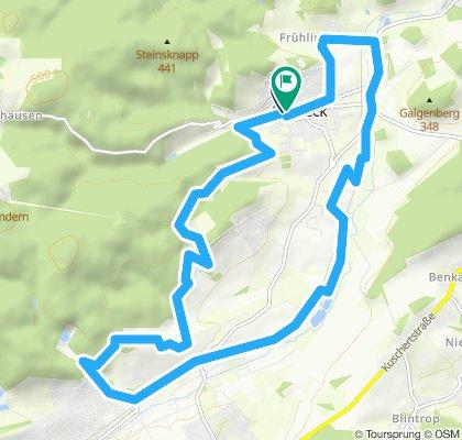 Gemütliche Route in Balve