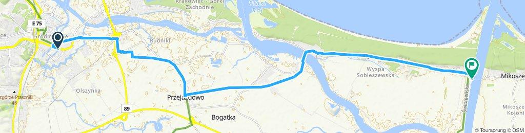 Trasa Gdańsk Śródmieście - Świbno / 2019.08.06