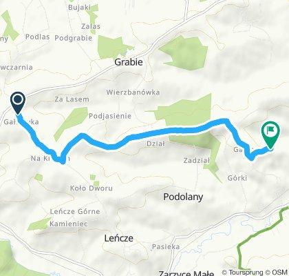 Easy ride in Wola Radziszowska