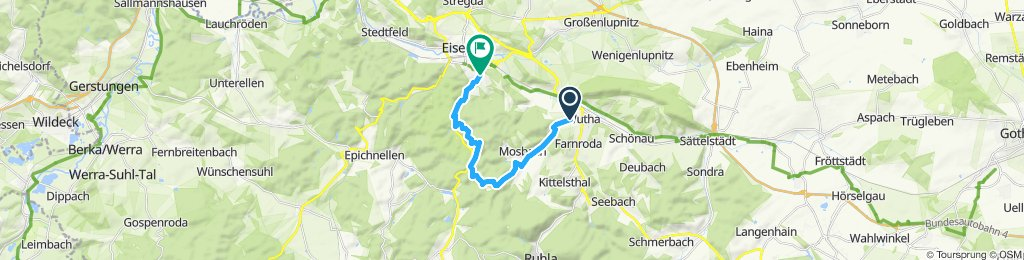 Moderate Route in Eisenach
