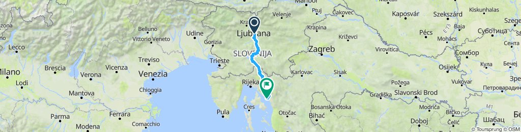 Novi Vinodolski - kolo