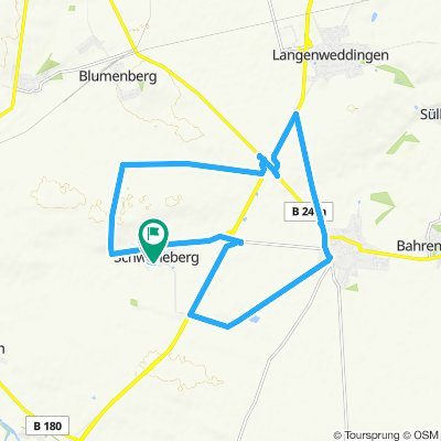 Route im Schneckentempo in Sülzetal