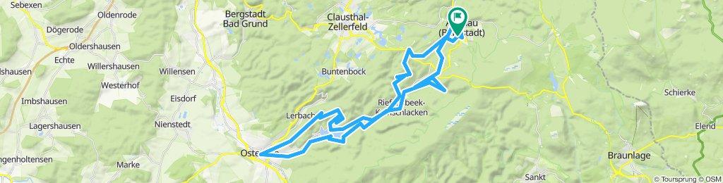 Altenau - Söstalsperre - Osterode