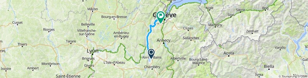 Aix Les Bains - Ginevra