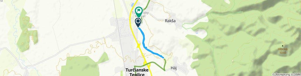 Pomalá jazda Turčiansky Michal