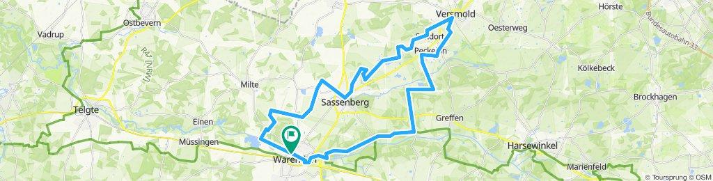 Warendorf - Versmold - Warendorf