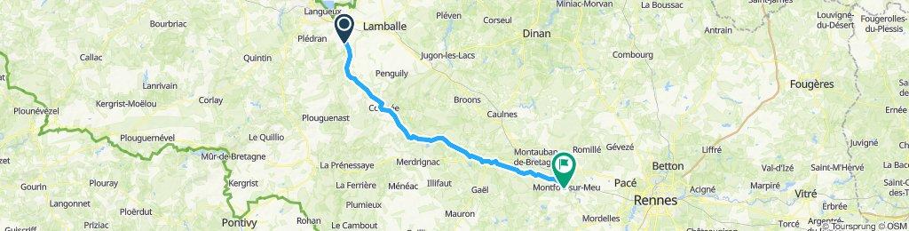 Itinéraire modéré en Bédée