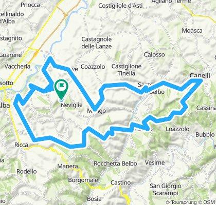 Neviglie - Alba - Mango - Canelli - Barbaresco