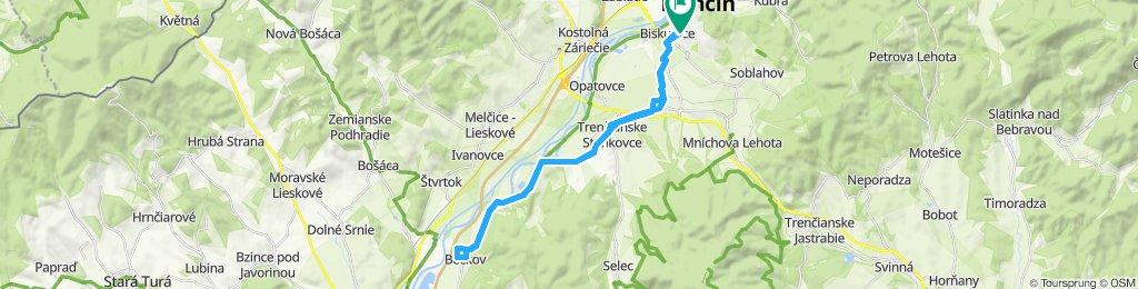 Keď som išiel Trenčín Beckov