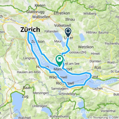 Around the Zurich Lake