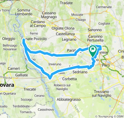 Giro Villoresi Naviglio Grande
