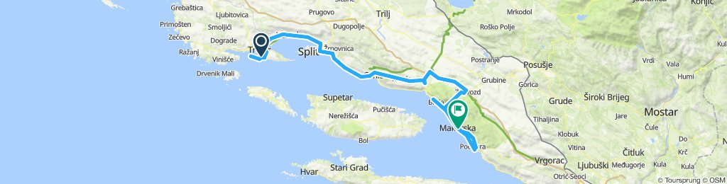 3rd stage CRO Race 2019 Okrug - Makarska (03.10.2019.)