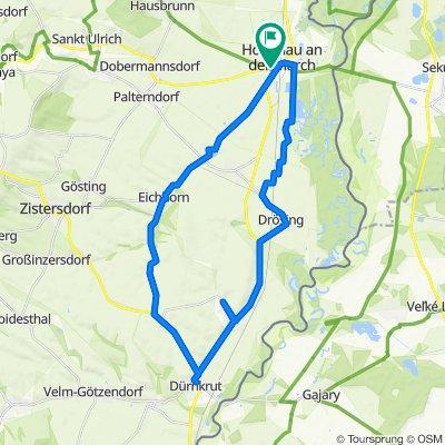 Hohenau-Durnkrut-Jedenspeigen-Drosing-Hohenau