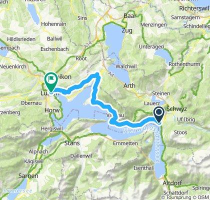 Rigiblicktour Brunnen-Luzern