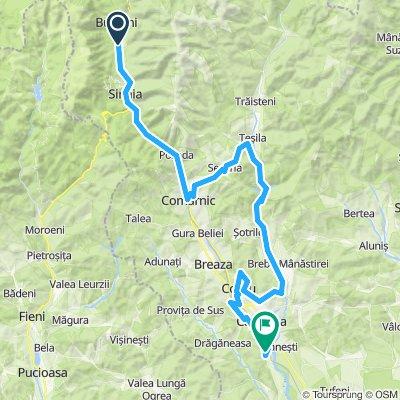 Busteni-Sinaia-Comarnic-Secaria-Paltinu-Campina-Cornu-Breaza-Bobolia