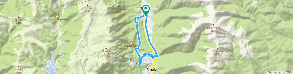 Poiana Tapului - Peles - Telegondola Sinaia - Cumpatu