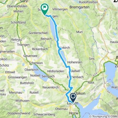 Rigiblicktour Luzern-Hallwil
