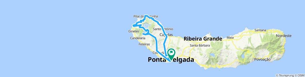 Sete Cidades and the north coast