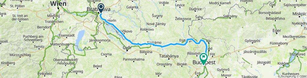 Bratislava to Budapest